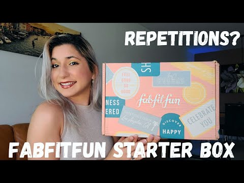 Fabfitfun Starter Box 2020 Unboxing -Over $75 In Value? Repetition? Are These Summer Products?