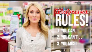 How to Coupon at Walgreens: 15 Rules to Save you Money
