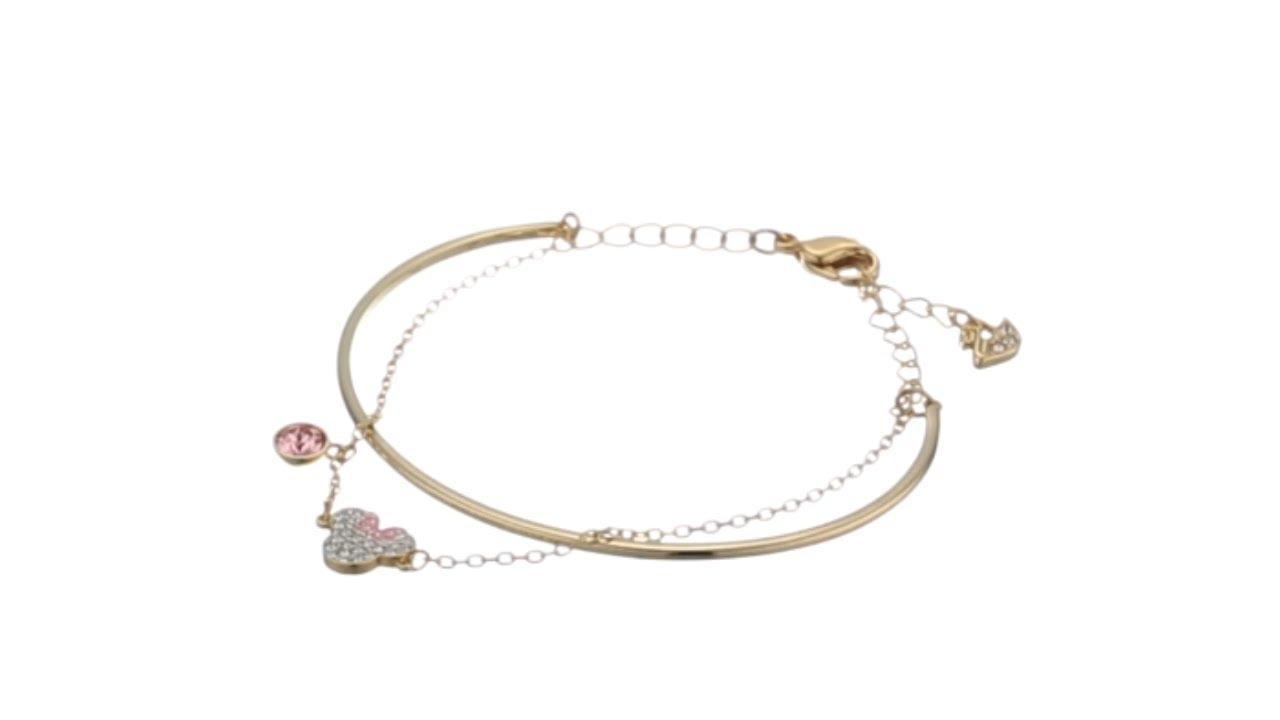 Swarovski Mickey & Minnie Bangle Bracelet SKU: 9335569