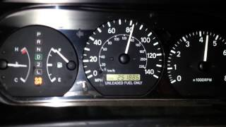 !!!98 TOYOTA CAMRY TOP SPEED TWO TRIES!!!!!!!!!!!!