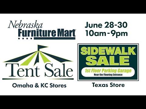 2016 Tent & Sidewalk Sale - Day 1 - Nebraska Furniture Mart