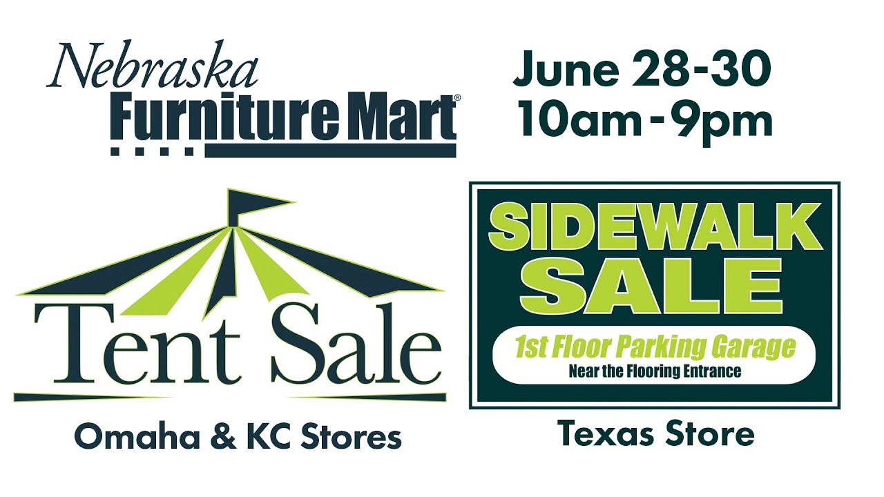 2016 Tent u0026 Sidewalk Sale - Day 1 - Nebraska Furniture Mart  sc 1 st  YouTube & 2016 Tent u0026 Sidewalk Sale - Day 1 - Nebraska Furniture Mart - YouTube