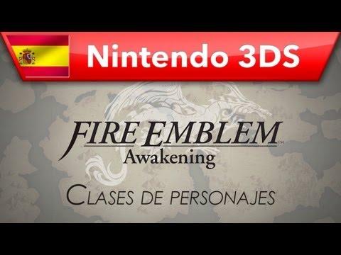Fire Emblem: Awakening - (Nintendo 3DS) - Clases de personajes
