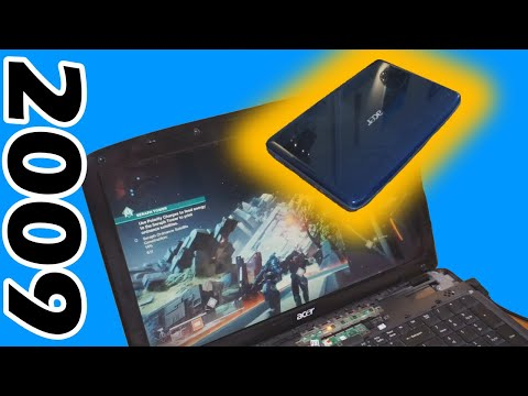 Gaming On an 11-year Old Laptop | Upgrading Acer Aspire 5735z