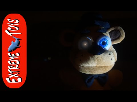 Five Nights at Freddy's Toys Cause Terror in the House! Plus FNAF Toy Review.