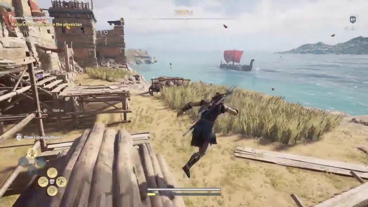 AC Odyssey Gameplay 1 - Alexios - YouTube
