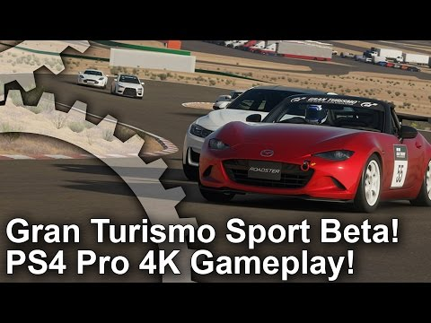 video digital foundry gran turismo sport beta on ps4 pro ps4. Black Bedroom Furniture Sets. Home Design Ideas