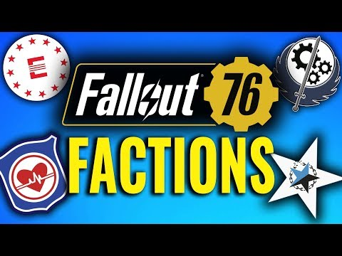 Fallout 76: Factions Explained