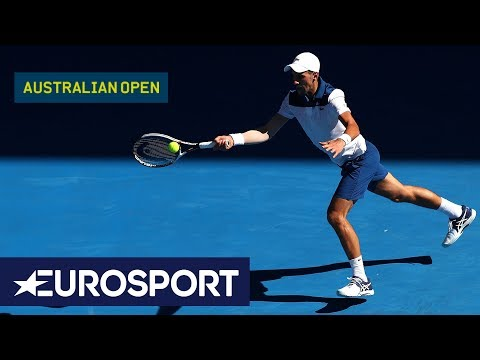 Australian Open 2018: Day 2 Top 5 Shots | Eurosport
