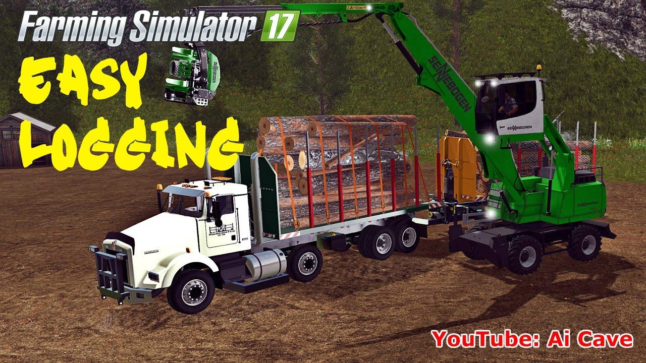 ชุมชน Steam :: วิดีโอ :: Farming Simulator 17 Easy Logging