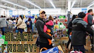BLACK FRIDAY AT WALMART!