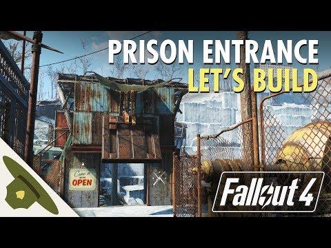 Fallout 4: Thicket Excavations Prison | Prison Entrance | Let's Build Part 7