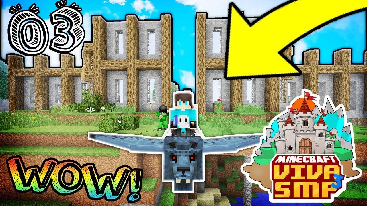 LANJUTIN BIKIN RUMAH MEWAH YOK ! - Minecraft VivaSMP S3