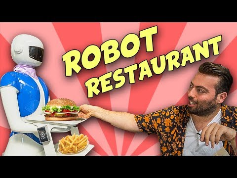 Türkiye'nin İlk Robot Restoranına Gidip Ne Varsa Yedim!