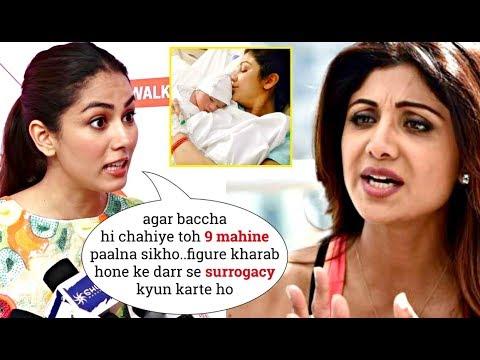 Shahid Kapoor's Wife Mira Rajput INSULTS Shilpa Shetty Having Daughter Samisha Via SURR0GACY!