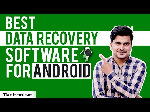 Best Data Recovery Software For Android 2018 | Hindi / Urdu | Technoism