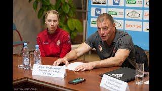 Пресс-конференция. Астраханочка - Луч (18.10.2017)