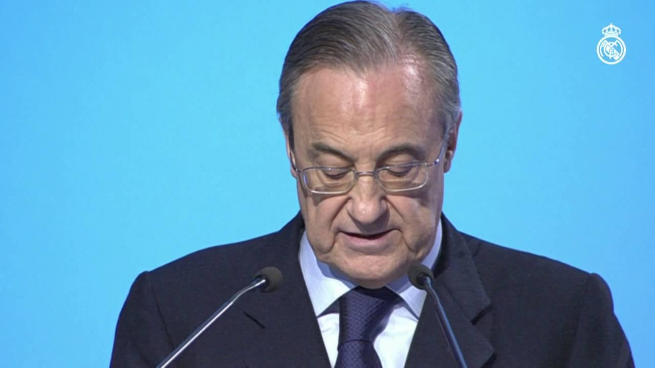Paco Gento fue nombrado Presidente de Honor del Real Madrid