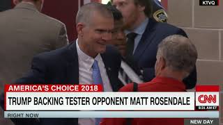 Trump Trying To Sway The Close Montana Senate Race | Latest CNN News | Stay Alert News Network