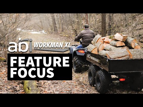 ATV Utility Dump Trailer - ABI Workman Trailers