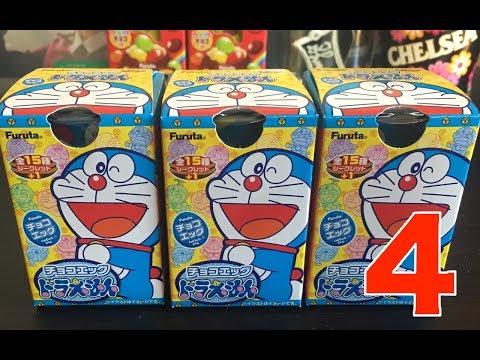 【Doraemon Choco Egg】ドラえもんチョコエッグ最強開封Part 4 - YouTube