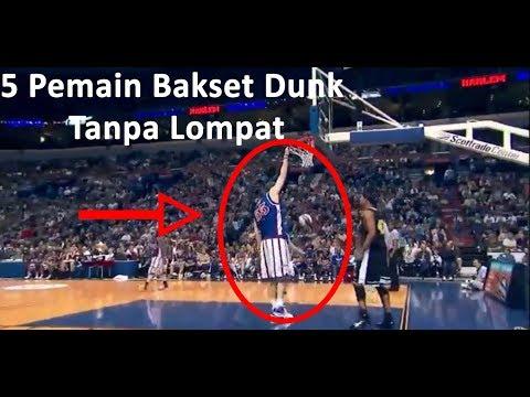 WOW !!! 5 Pemain Basketball Slamdunk Tanpa Lompat