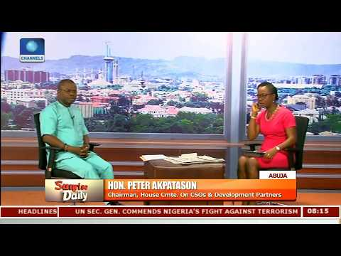 NGO Bill To Prevent Promotion Of Terrorism And Money Laundering - Rep. Pt.2 |Sunrise Daily|