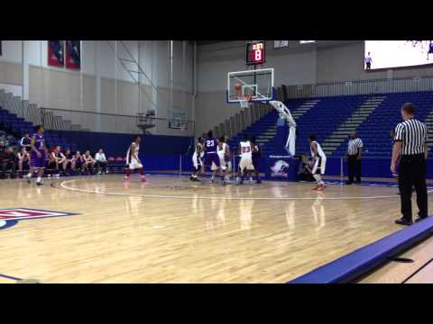 McNeil tip in Chavez/Mount St. Joseph basketball Gonzaga Classic finals 12/15/13