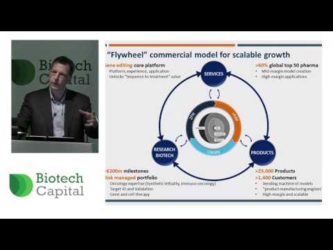 Horizon Discovery's Richard Vellacott speaks at Biotech Capital Show