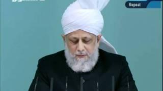 Freitagsansprache 2. September 2011 - Frömmigkeit bei den Neukonvertiten der Ahmadiyya Jamaat
