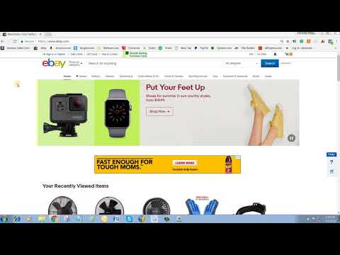 how to create eBay stealth account