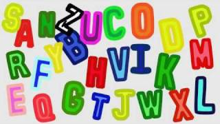 It's the classic ABC song to help children learn the names of the l...