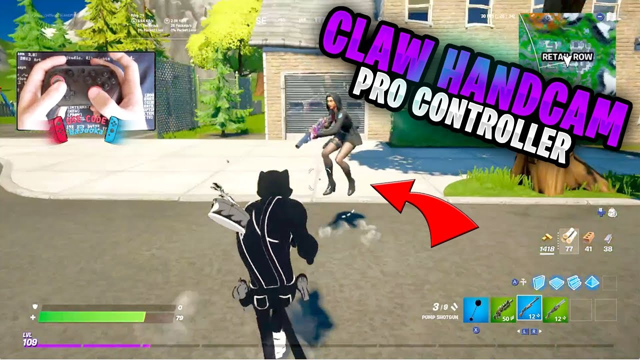 Fortnite on the Nintendo Switch Pro Controller #368