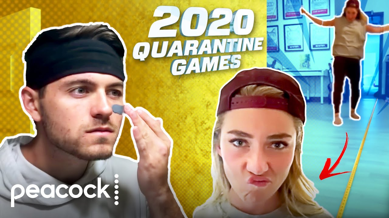 Download 2020 Quarantine Games with Real Olympians!   Peacock Presents At-Home Variety Show