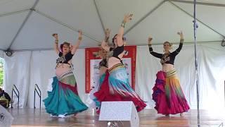 Tribe Nawaar Dance Company Boulder Creek Festival 2017