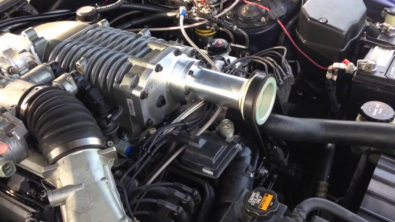 Supercharged 92 Lexus Sc400 Youtube