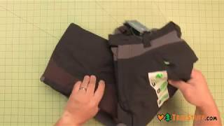 Notch Protective Chainsaw Pants - 2017 Version - TreeStuff.com 360 View