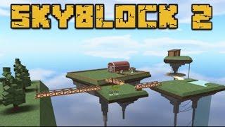 Roblox Tui La Hacker !!!! Sky Block 2