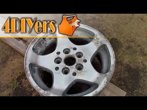 DIY: How to Remove the Paint or Clear Coat from Wheels