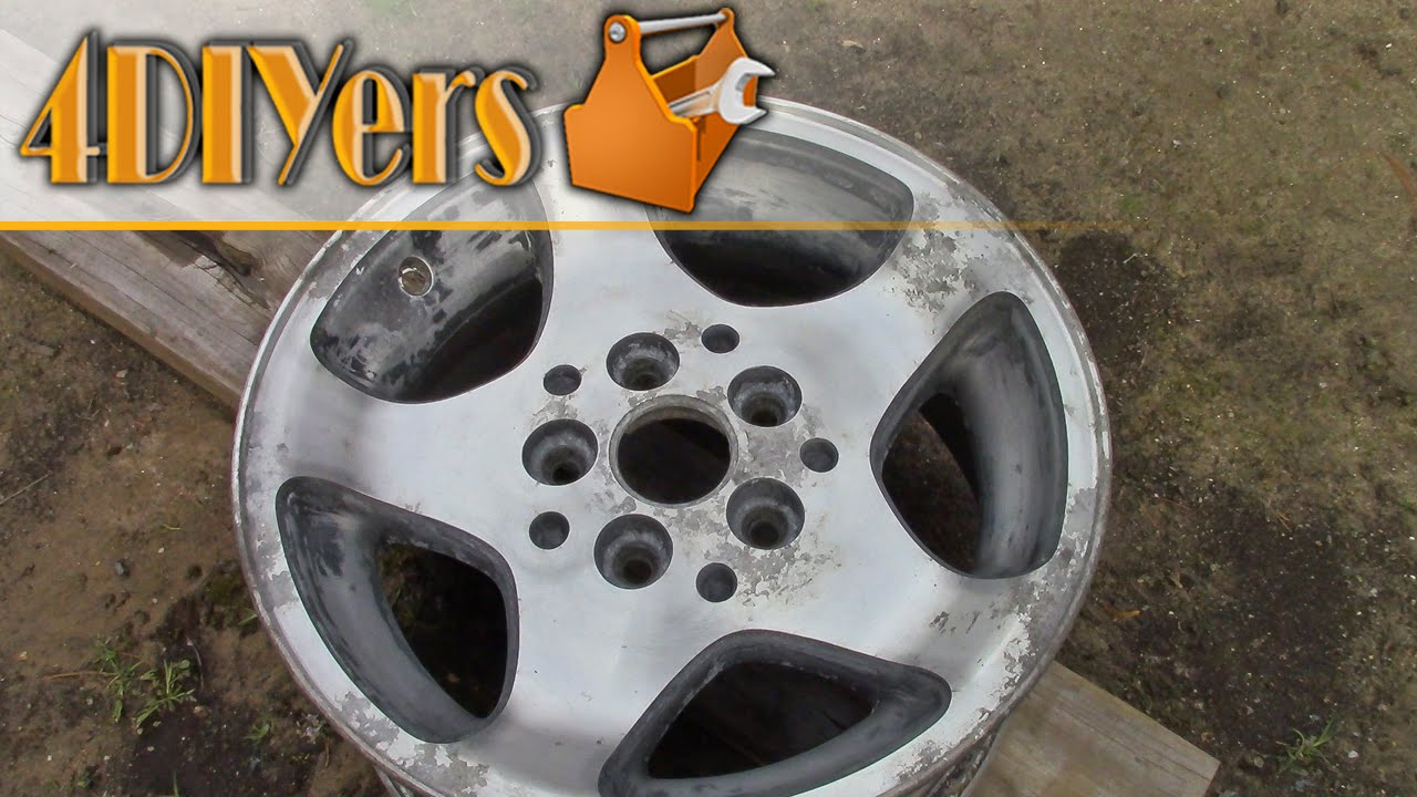 Spray Painting Wheels With Clearcoat