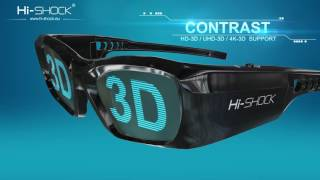 Hi-SHOCK 3D Glasses for Home Theater / TV & Projector | Full HD | Trailer