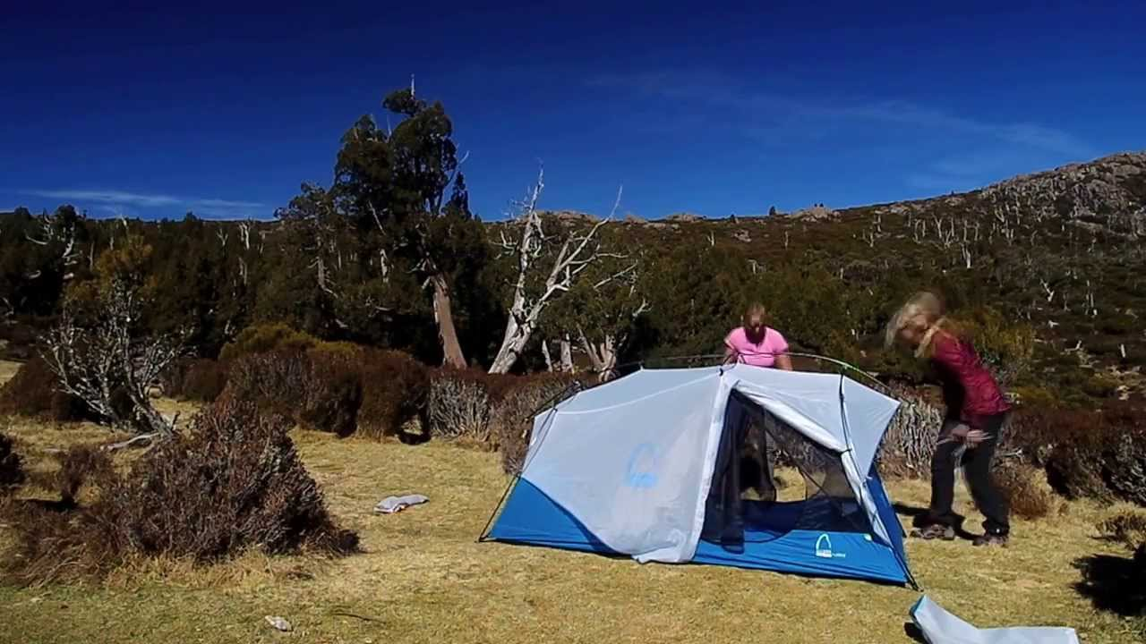 & Tent Review: Sierra Designs Flash 2 Tent - YouTube