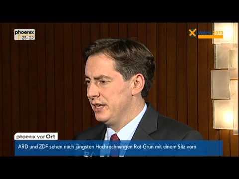 David McAllister (CDU) zum Wahlausgang in Niedersachsen - VOR ORT vom 20.01.2013