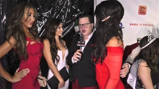 Melissa Riso looks stunning at Babes In Toyland charity event