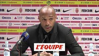 Henry «La peur de gagner existe aussi» - Foot - L1 - Monaco