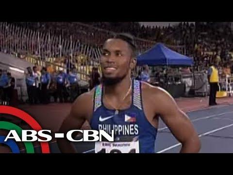 TV Patrol: Fil-Am runner, muling humablot ng ginto sa 400m hurdles