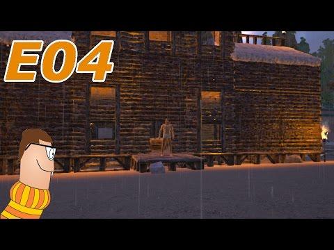 ARK: Survival Evolved Singleplayer Let's Play - E04 House Renovations!