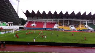 Serunya Laga Kyrgyzstan(3)VS Mongolia(0)Laga Awal Aceh World Solidarity Cup Bermain Dalam Hujan