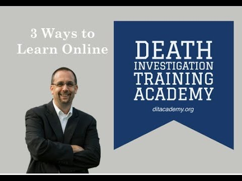 Education Options - Death Investigation Academy