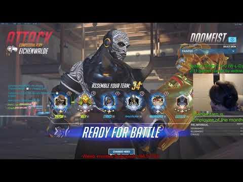 Overwatch Toxic Doomfist God Chipsa Predator Of Eichenwalde